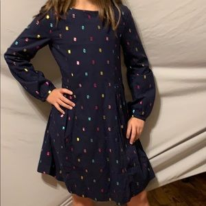Cute dress with colorful dots